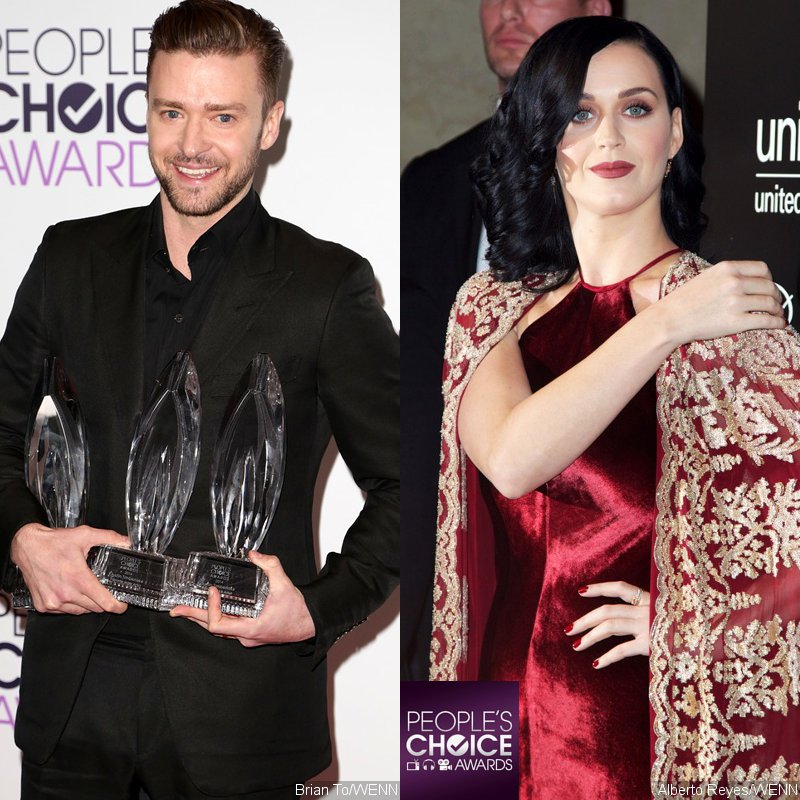 People's Choice Awards 2014: Justin Timberlake and Katy Perry Win Big in Music Field