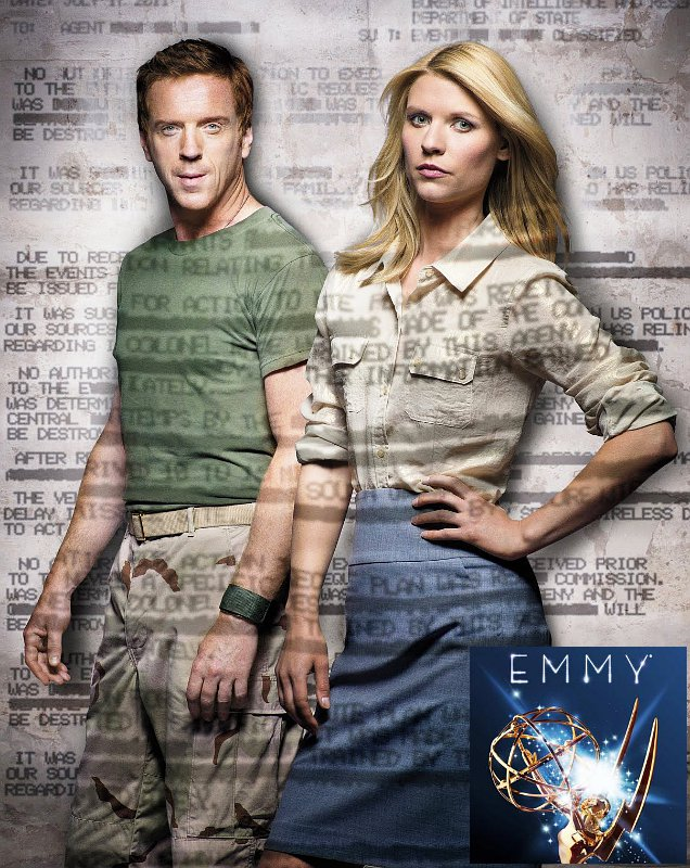Primetime Emmys 2012: Damian Lewis and Claire Danes Are Best Actor and Actress in Drama