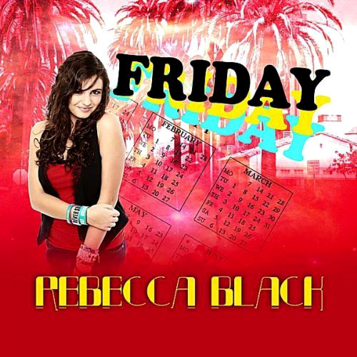 Rebecca Black Breaks Top 100 With Much-Ridiculed Single 'Friday'