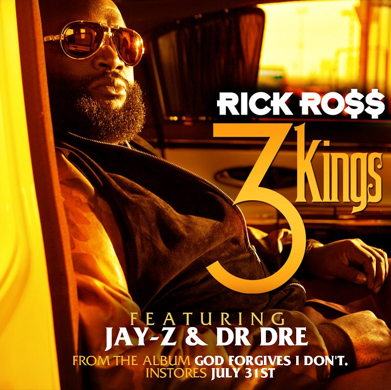 Video Premiere: Rick Ross' '3 Kings' Ft. Jay-Z and Dr. Dre