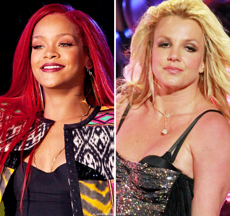 Rihanna and Britney Spears Confirm Collaboration in 'S and M' Remix