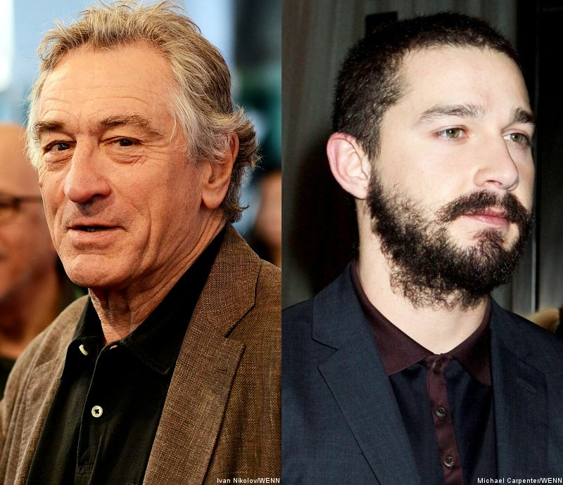 Robert De Niro and Shia LaBeouf in Talks to Play Father and Son in 'Spy's Kid'