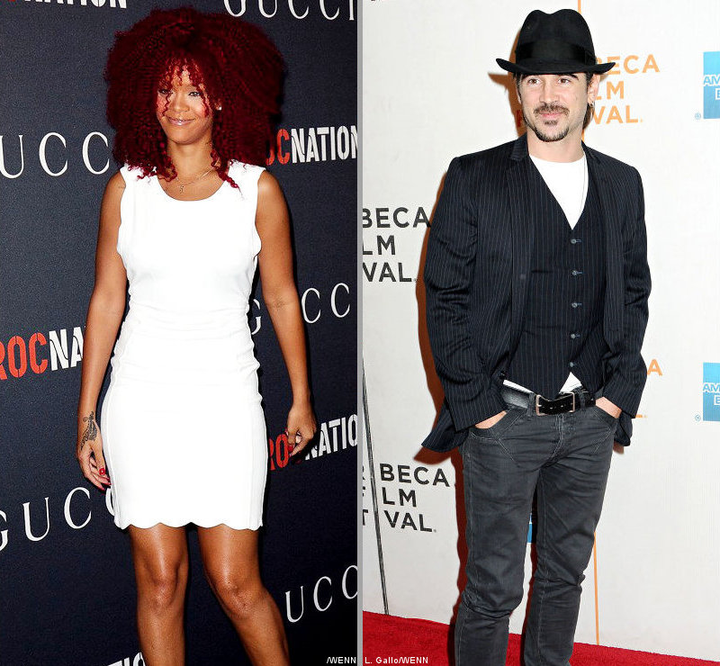 Rolling Stone Reporter Insists Rihanna and Colin Farrell Not Dating