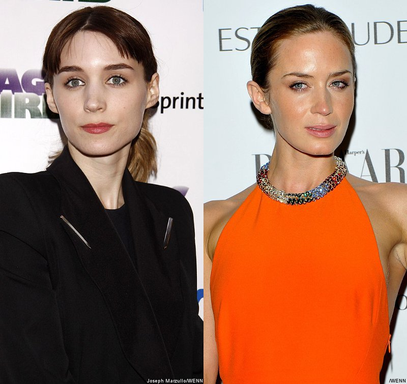 Rooney Mara and Emily Blunt Racing to Be Johnny Depp's Wife in 'Transcendence'