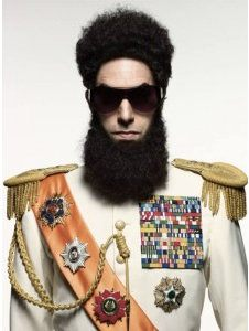 First Look at Sacha Baron Cohen in Saddam Hussein-Like 'Dictator' Costume