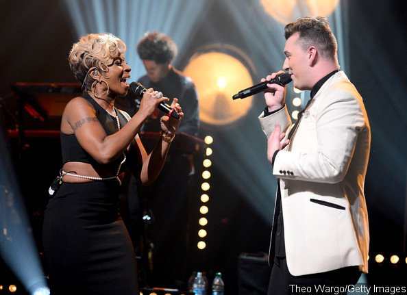 Sam Smith Joined by Mary J. Blige for 'Stay With Me' at New York Gig