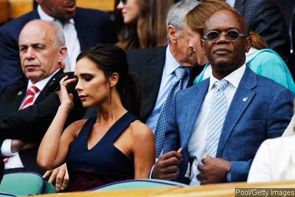 Samuel L. Jackson Slams Reports That He Had Awkward Moment With Victoria Beckham at Wimbledon