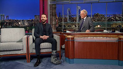 Shia LaBeouf Addresses His Foot Injury and Alec Baldwin Feud