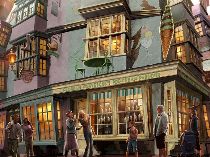Sneak Peeks of Harry Potter Expansion at Universal Orlando