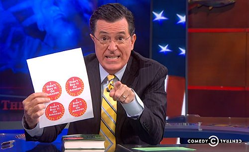Video: Stephen Colbert Urges His Viewers to Boycott Amazon