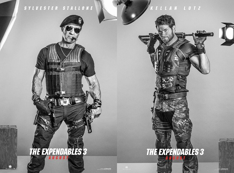 'The Expendables 3' Releases Character Posters