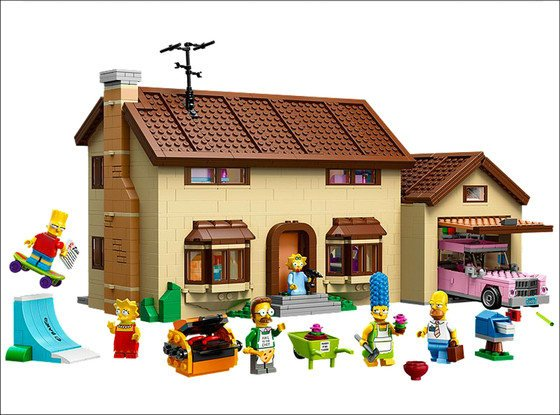 'The Simpsons' Plans Lego Episode for May 4
