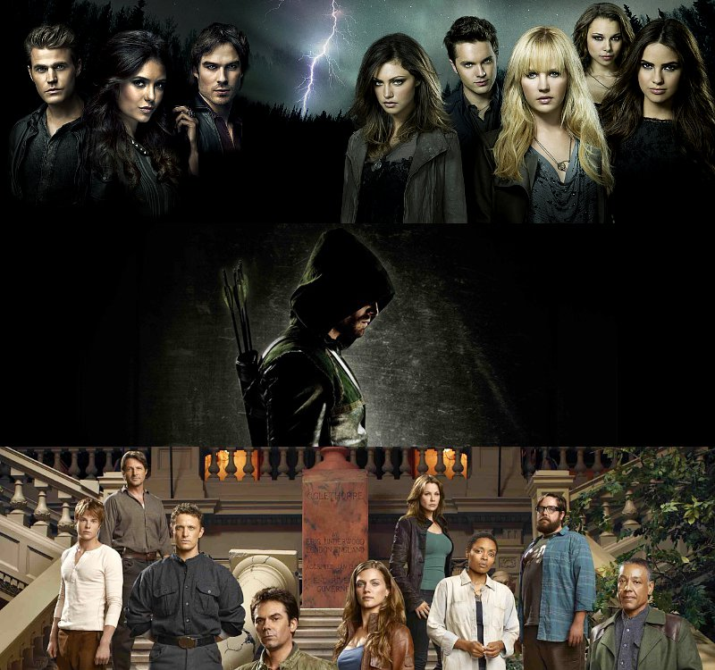 'The Vampire Diaries', 'Arrow', 'Revolution' and More Head to Comic-Con 2012