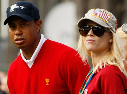 Tiger Woods Spotted Reuniting With Elin Nordegren and Their Children in Florida