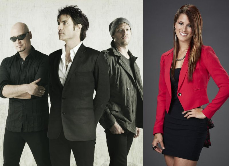 Train and Cassadee Pope to Headline 'New Year's Eve with Carson Daly'