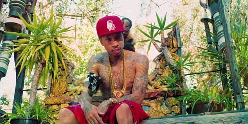 Tyga Parties With Ladies and Animals in 'Hookah' Video Ft. Young Thug