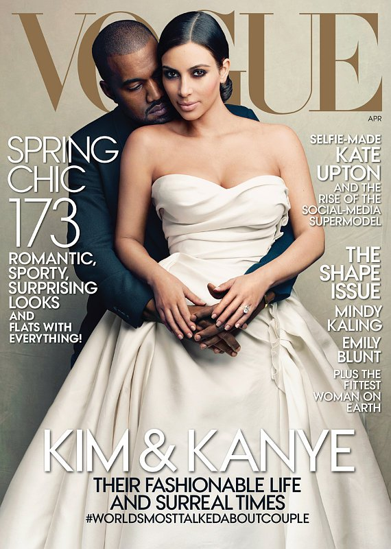 Vogue Sued Over Song in the Video to Promote Kim Kardashian, Kanye West Cover Issue