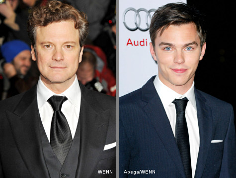 Colin Firth Feels Uneasy About Kissing Nicholas Hoult