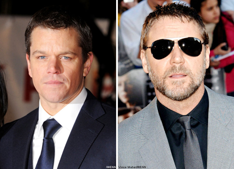 Matt Damon to Pass 'Bourne' to Russell Crowe or Denzel Washington