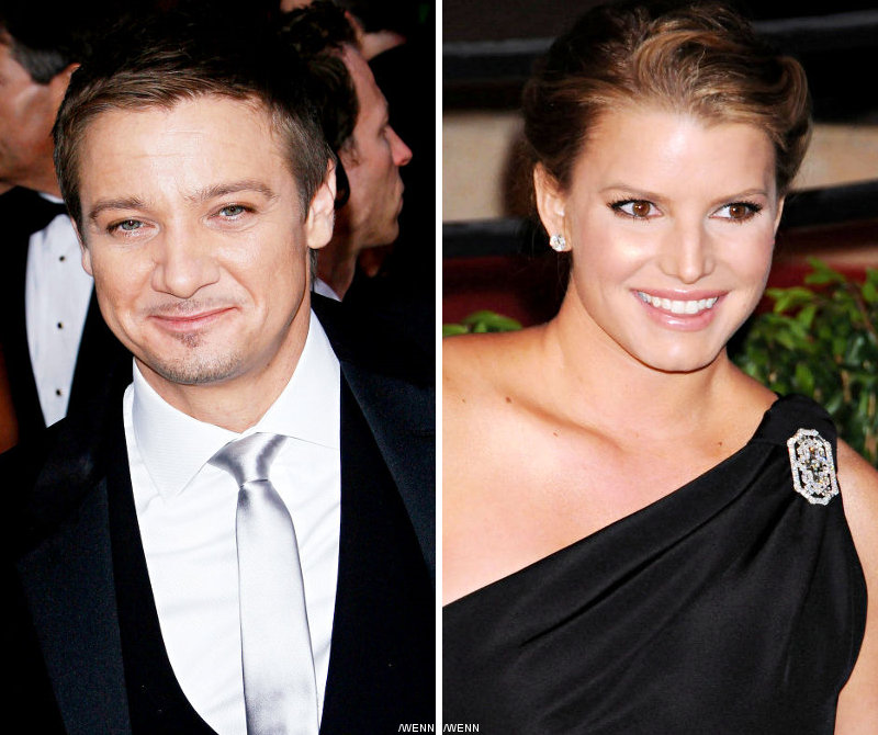 Being Rumored Dating Jessica Simpson, Jeremy Renner Startled
