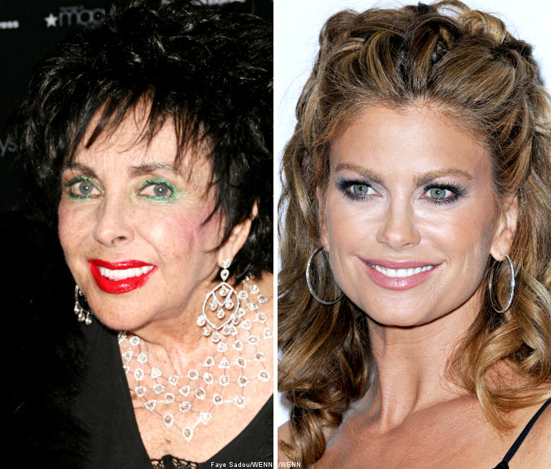 Elizabeth Taylor Furious at Criticism Over Kathy Ireland Oscars Behaviour