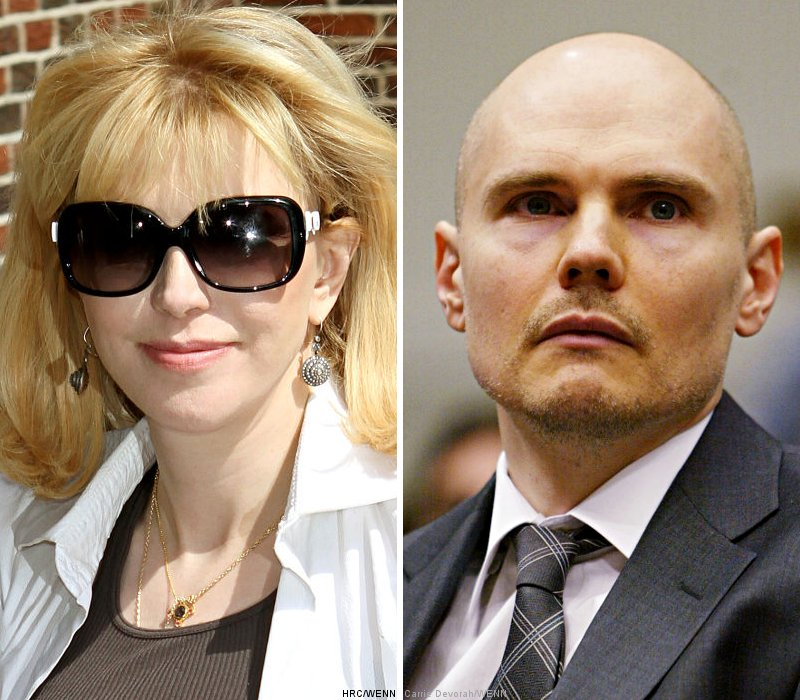 Courtney Love Responds Angrily to Billy Corgan's Tweet