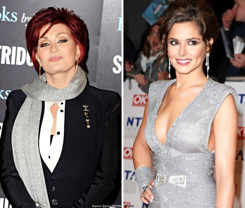 Sharon Osbourne Advises Cheryl Cole to Ditch Ashley Cole