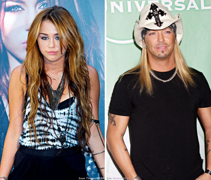 Miley Cyrus Will Never Stumble Out of Nightclubs Drunk, Thanks to Bret Michaels' Advice