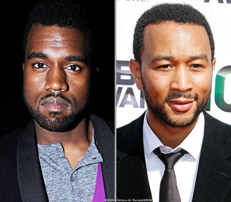 Video: Kanye West Took the Stage With John Legend on the Piano