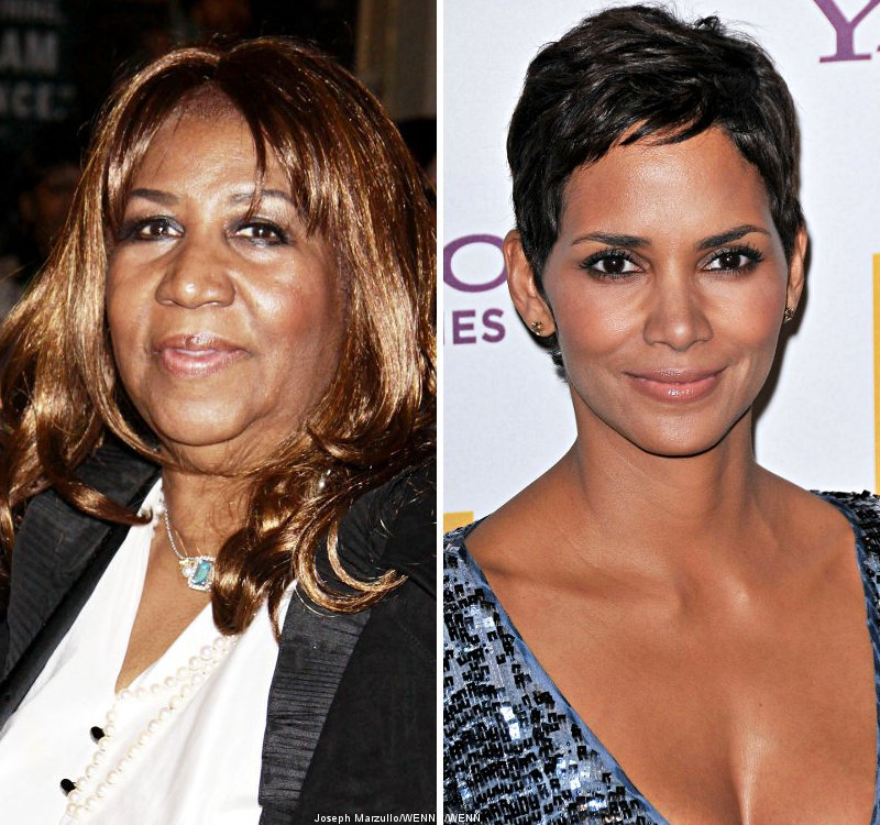Aretha Franklin's Biopic Moves Forward, Halle Berry Says No