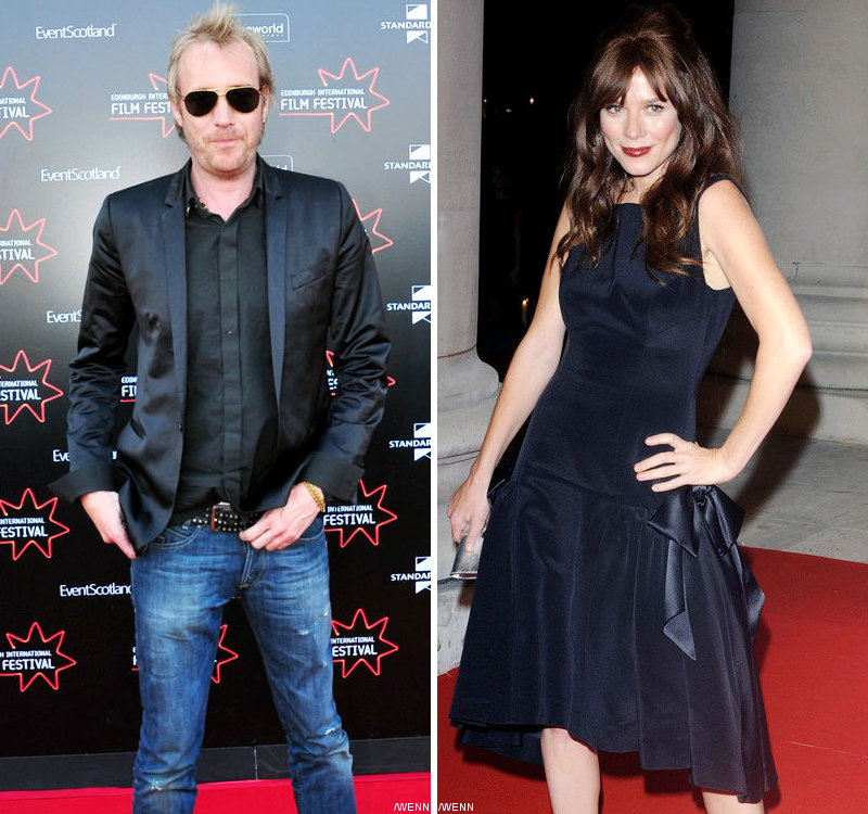 Rhys Ifans Is Rumored Dating Anna Friel
