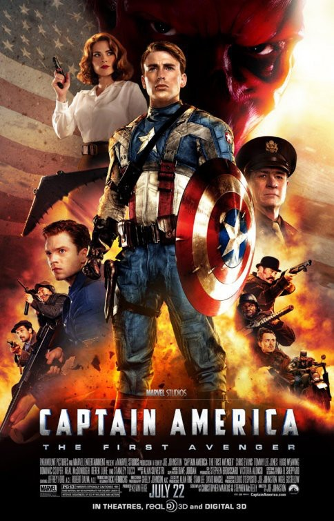 Nine Minutes of B-Roll Footage From 'Captain America'