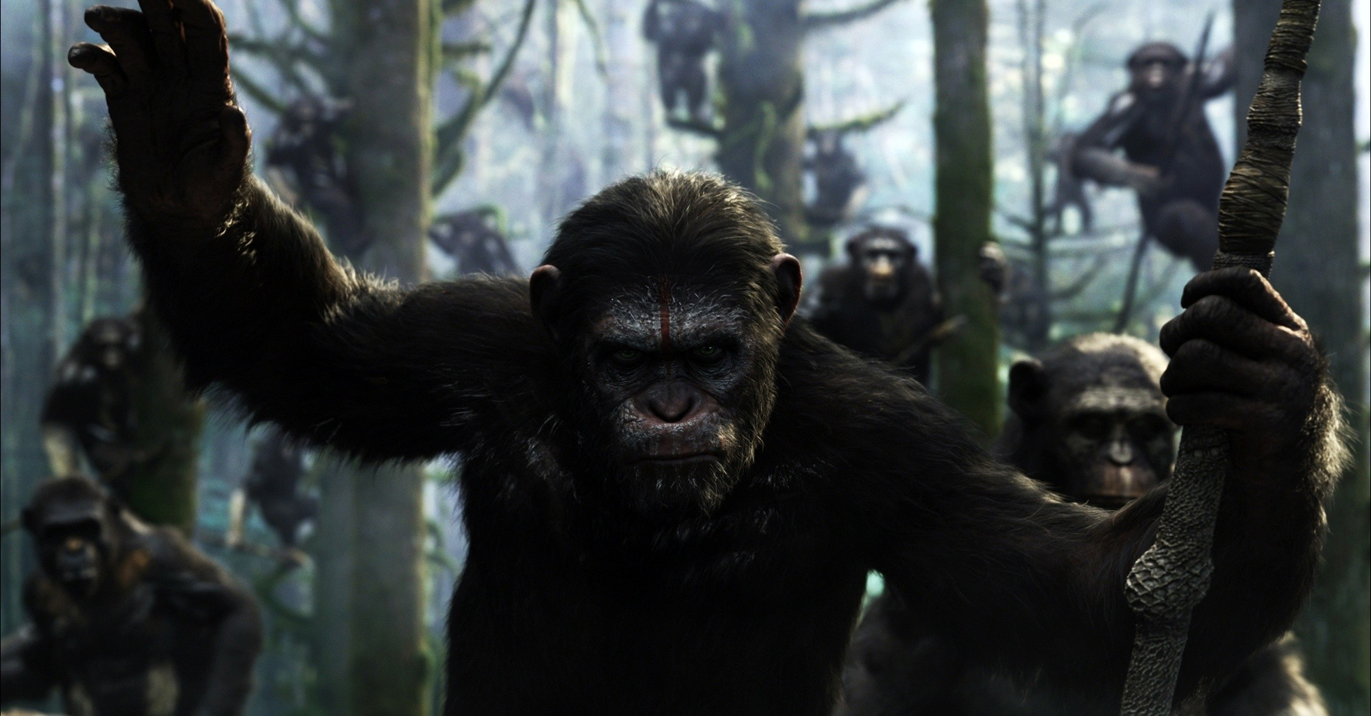 'Dawn of the Planet of the Apes' Gets First Trailer