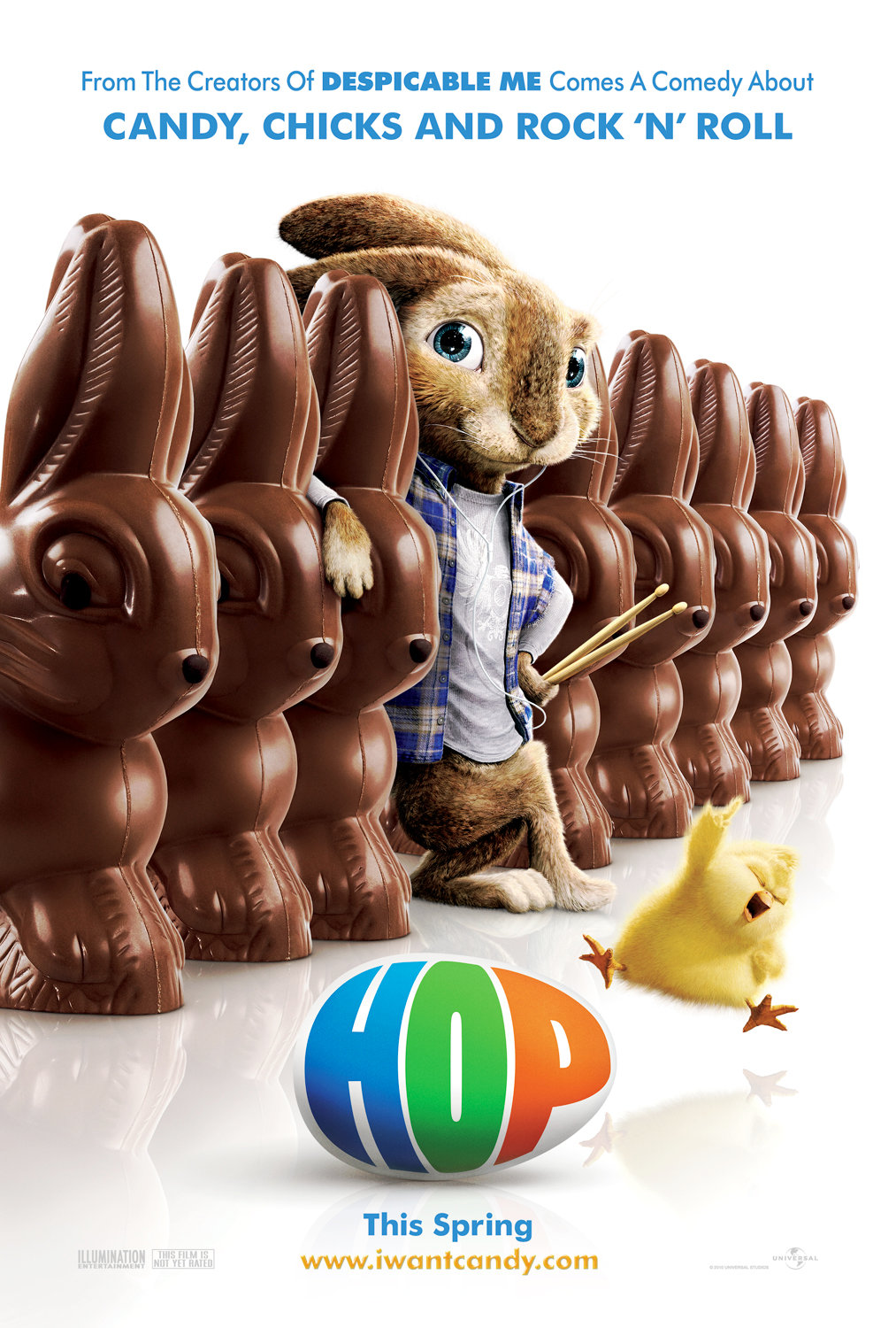 First Look at Russell Brand as Easter Bunny in 'Hop'