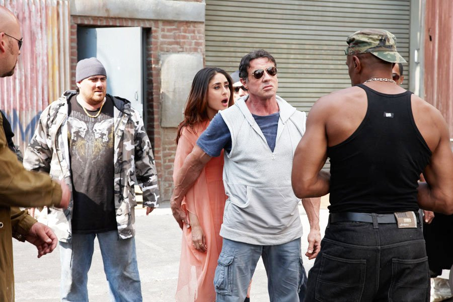 Image result for Sylvester Stallone in Kambakkht Ishq.