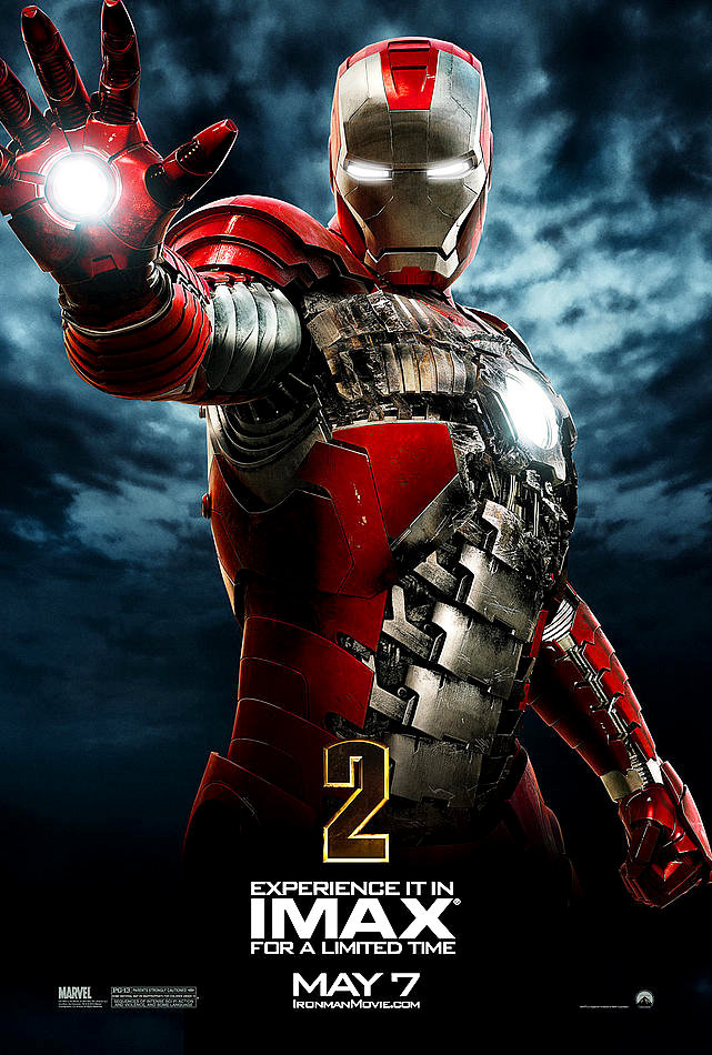 'Iron Man 2' Debuts New Clip and Posters