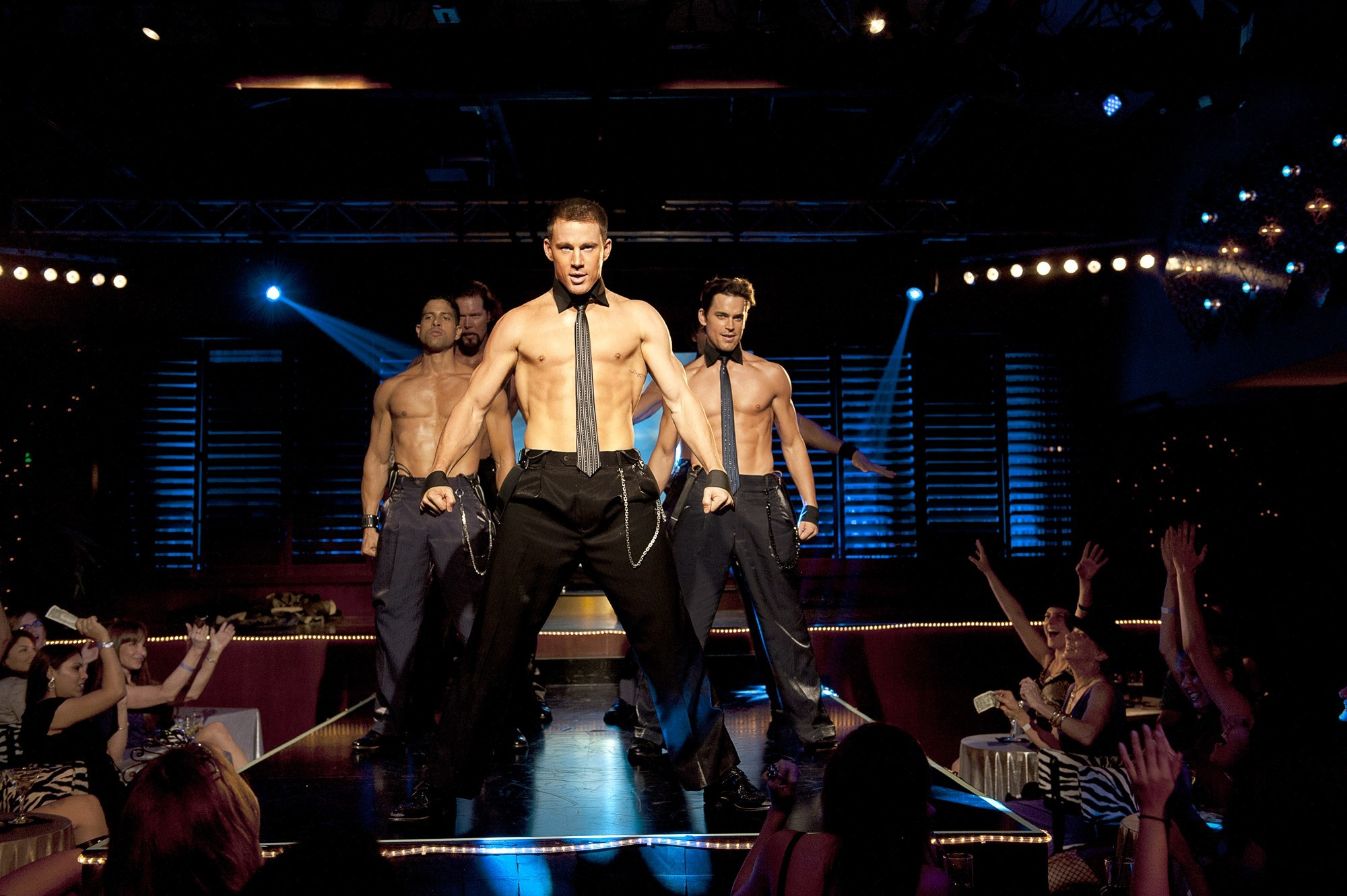 Channing Tatum Goes Nude in 'Magic Mike' Red Band Trailer