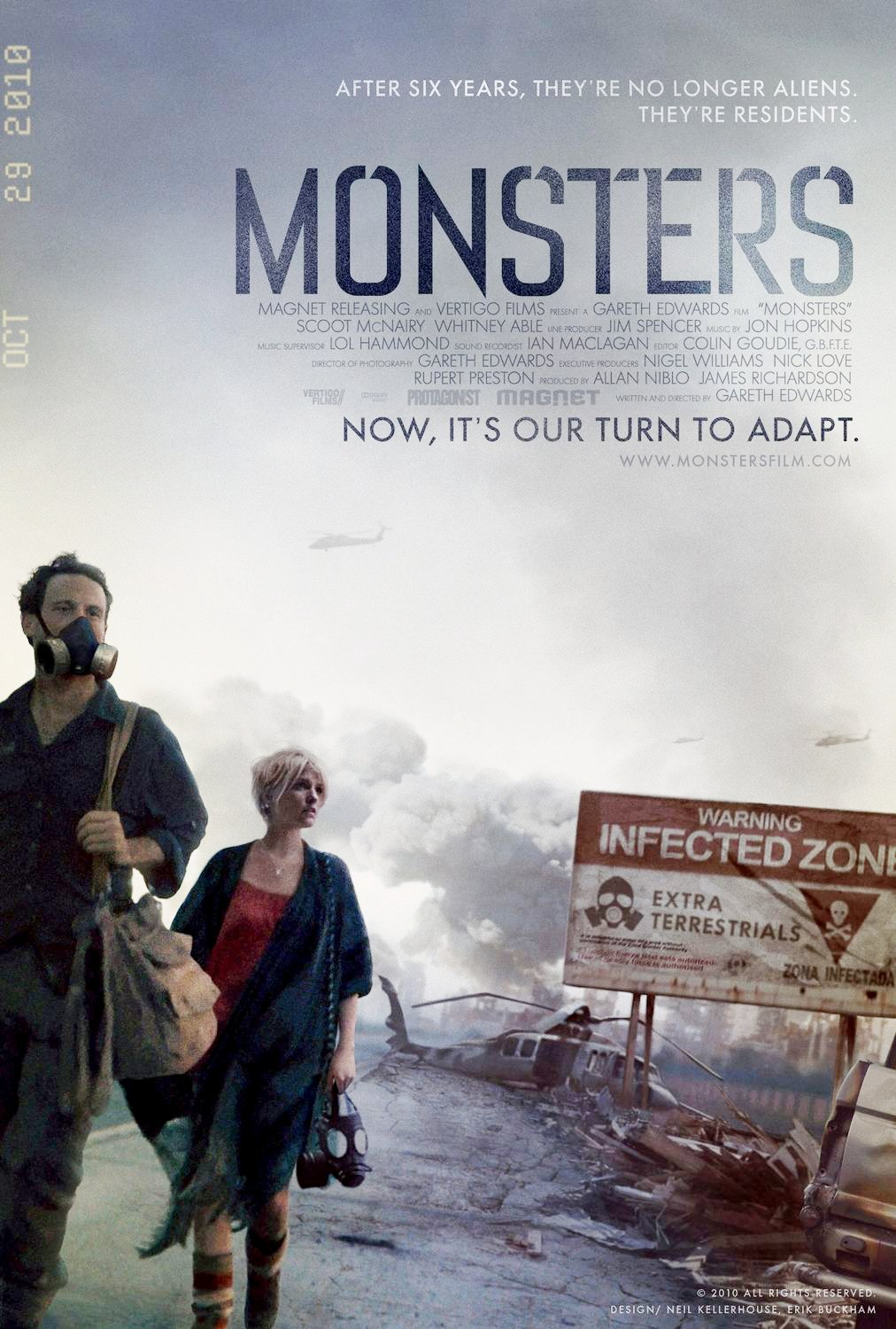 New 'Monsters' Teaser Trailer Shares the Fear