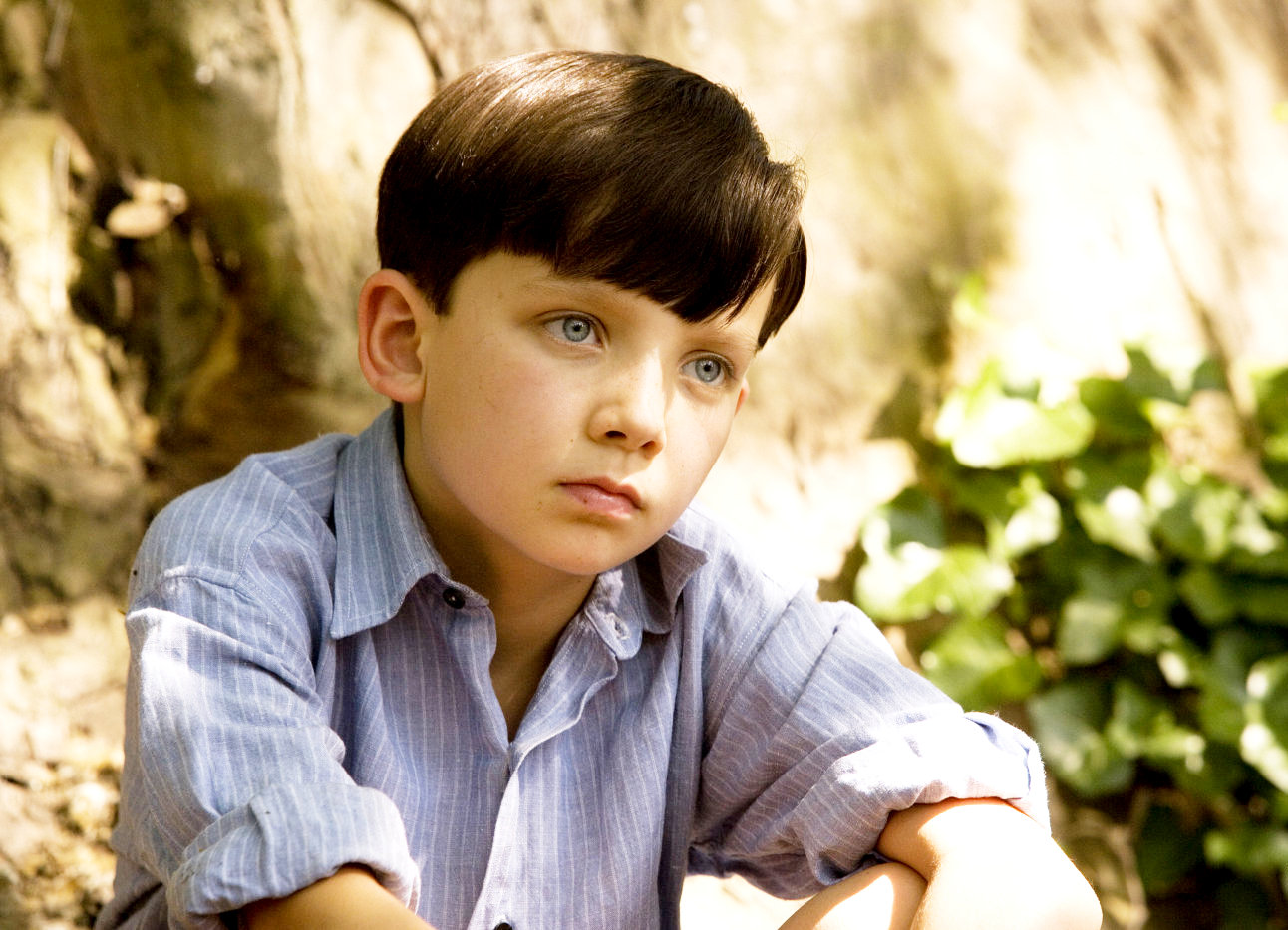 the boy in the striped pajamas picture  asa butterfield stars as bruno in miramax films the boy in the striped pajamas 2008