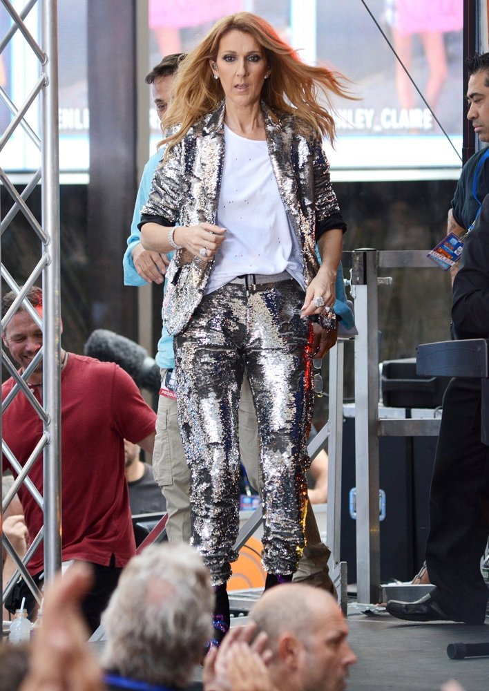 Celine Dion Performing Live on NBC's Today Show
