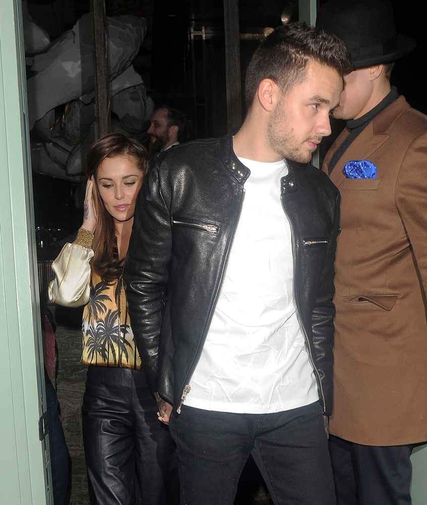 Cheryl Cole and Liam Payne Enjoy Date Night