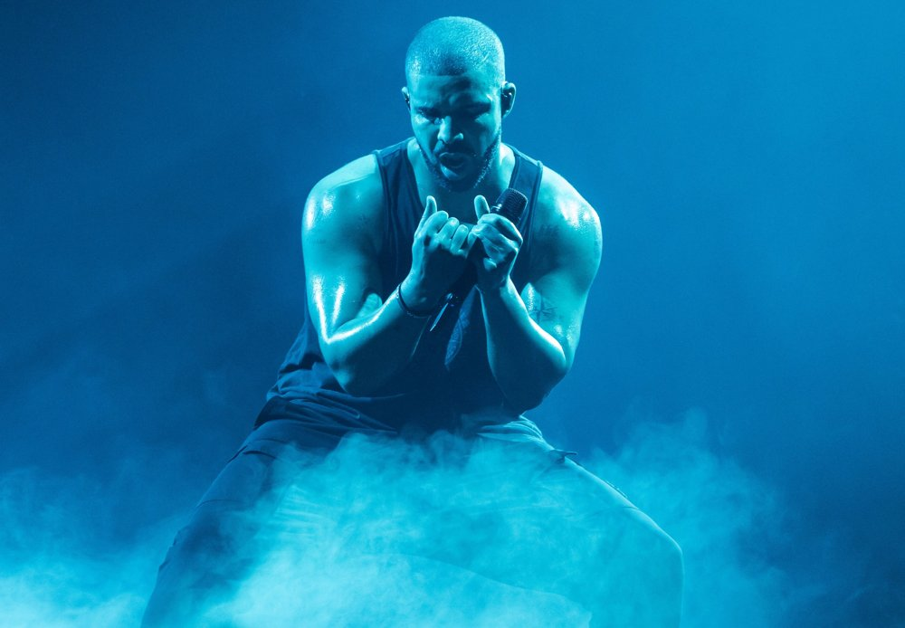 Drake Performing at Mercedes-Benz-Arena