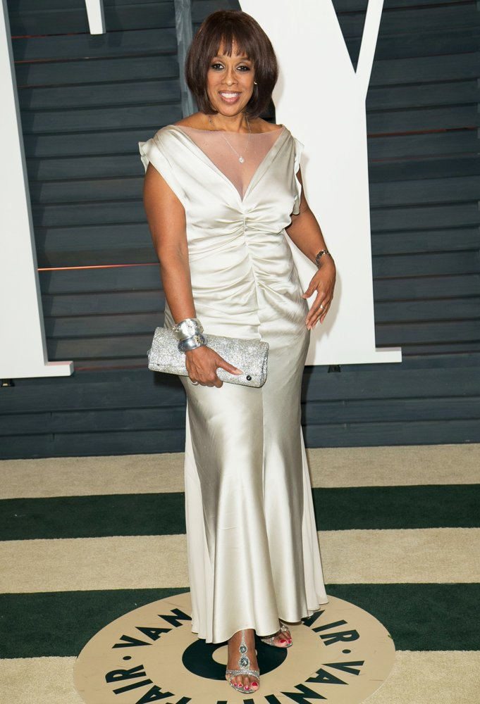 Image result for gayle king oscars 2015