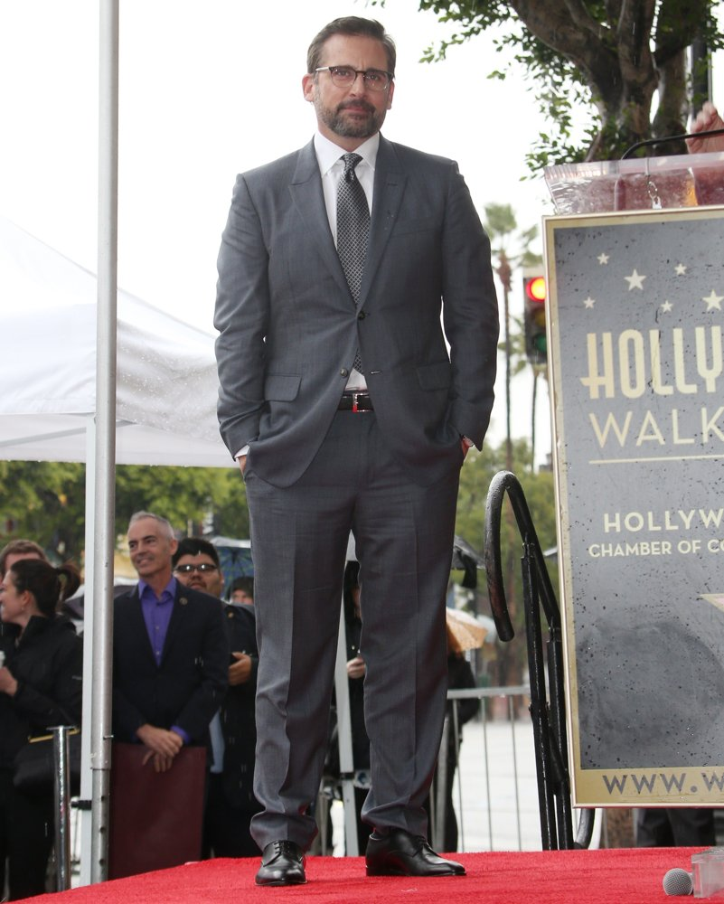 Steve Carell Honored with Star on The Hollywood Walk of Fame